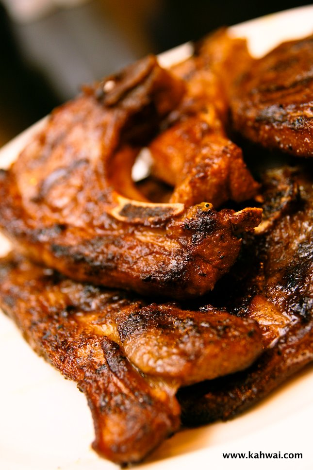 Tender Grilled Lamb Chops