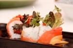 Wasabi Bistro – Delish! Salmon Mango SushiRoll